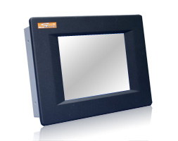 Senses panel mount industrial monitor
